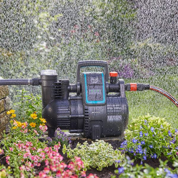 Rollrasen im Garten automatisch bewässern