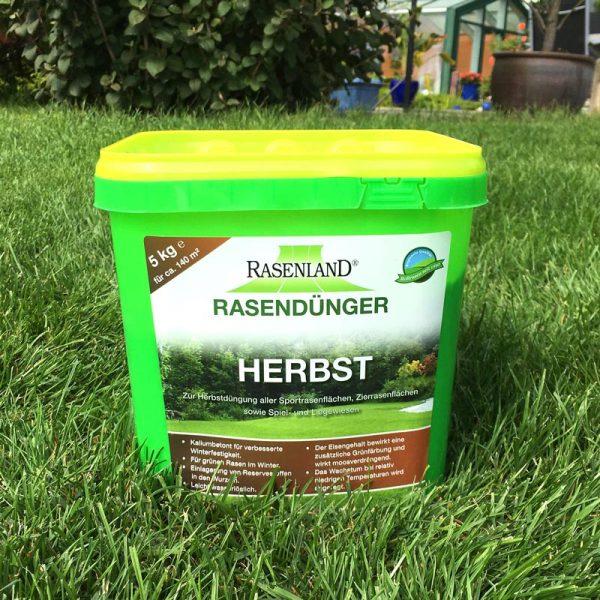Herbstdünger für Rasen - 5 kg Eimer für 140 m²